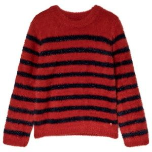 Striped Sweater Red/Navy